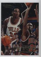 Scottie Pippen, Michael Jordan