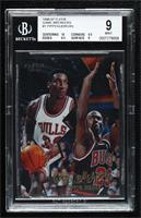 Scottie Pippen, Michael Jordan [BGS 9 MINT]