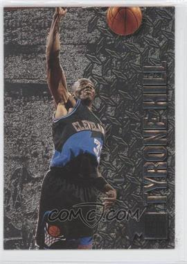 1996-97 Fleer Metal - [Base] - Precious Metal #160 - Tyrone Hill