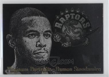1996 97 fleer metal platinum portraits 10 damon stoudamire