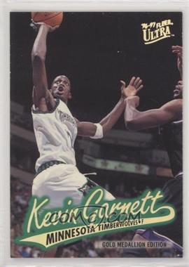 1996-97 Fleer Ultra - [Base] - Gold Medallion Edition #G-212 - Kevin Garnett