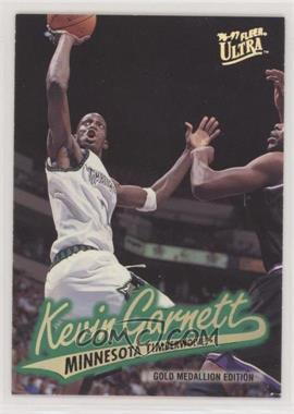 1996-97 Fleer Ultra - [Base] - Gold Medallion Edition #G-212 - Kevin Garnett