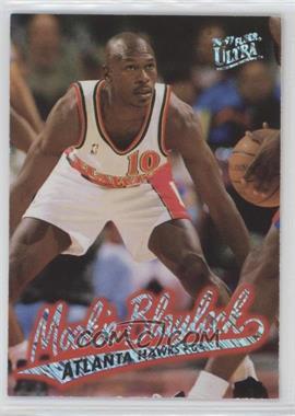 1996-97 Fleer Ultra - [Base] - Platinum Medallion Edition #P-1 - Mookie Blaylock
