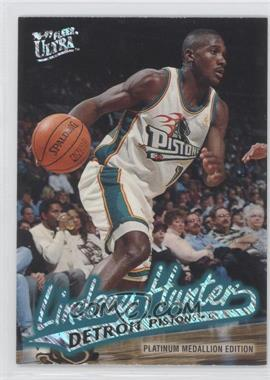 1996-97 Fleer Ultra - [Base] - Platinum Medallion Edition #P-180 - Lindsey Hunter