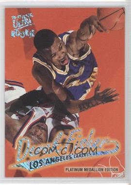 1996-97 Fleer Ultra - [Base] - Platinum Medallion Edition #P-202 - Derek Fisher