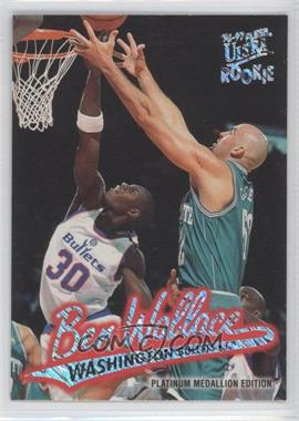 1996-97 Fleer Ultra - [Base] - Platinum Medallion Edition #P-263 - Ben Wallace