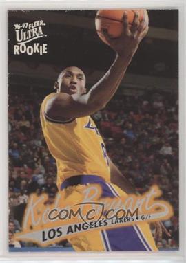 1996-97 Fleer Ultra - [Base] #52 - Kobe Bryant