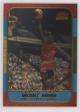 1996-97 Fleer Ultra - Fleer Premiere Ultra Decade 1986 Reprints Polychrome #NoN - Michael Jordan