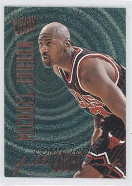 1996-97 Fleer Ultra - Full Court Trap - Gold Embossed #1 - Michael Jordan