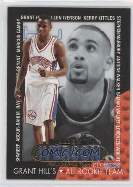 1996-97 NBA Hoops - Grant Hill's All Rookie Team #6 - Allen Iverson