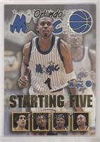 Anfernee Hardaway, Rony Seikaly, Nick Anderson, Horace Grant, Dennis Scott (Orl…