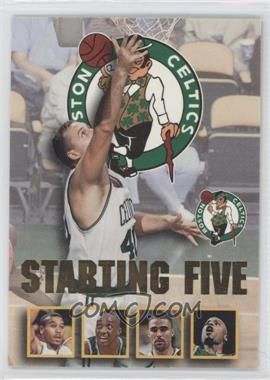 1996-97 NBA Hoops - Starting Five #2 - Dino Radja, Dana Barros, Dee Brown, Rick Fox, Todd Day (Boston Celtics)
