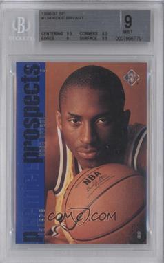 1996-97 SP - [Base] #134 - Kobe Bryant [BGS9]
