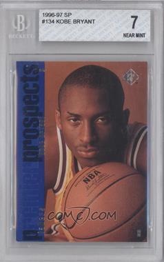 1996-97 SP - [Base] #134 - Kobe Bryant [BGS7]