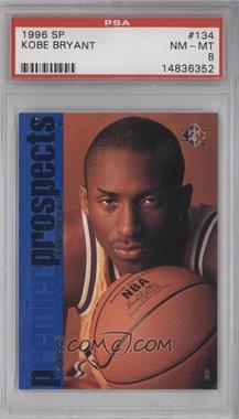 1996-97 SP - [Base] #134 - Kobe Bryant [PSA8]