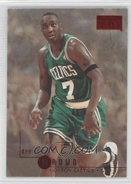 1996-97 Skybox Premium - [Base] - Star Rubies #135 - Dee Brown