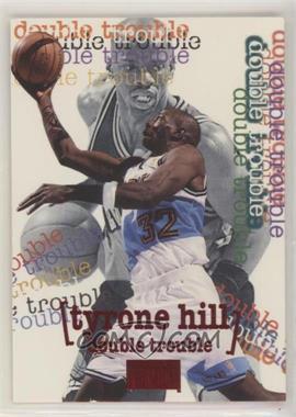 1996-97 Skybox Premium - [Base] - Star Rubies #266 - Tyrone Hill