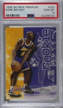1996-97 Skybox Premium - [Base] #203 - Kobe Bryant [PSA10GEMMT]