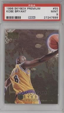 1996-97 Skybox Premium - [Base] #55 - Kobe Bryant [PSA9]
