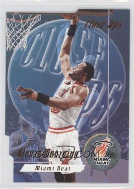 1996-97 Skybox Premium - Close Ups #CU 6 - Alonzo Mourning