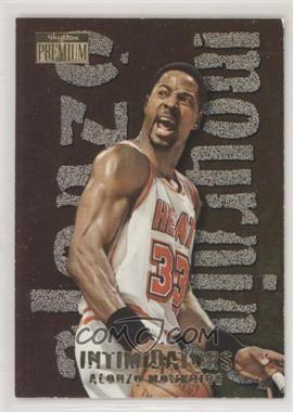 1996-97 Skybox Premium - Intimidators #12 - Alonzo Mourning [EX to NM]