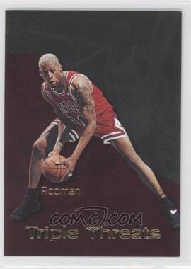1996-97 Skybox Premium - Triple Threats #TT10 - Dennis Rodman