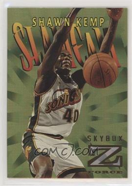 1996-97 Skybox Z Force - Slam Cam #SC6 - Shawn Kemp
