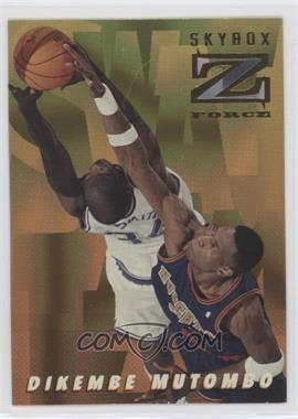 1996-97 Skybox Z Force - Swat Team #ST4 - Dikembe Mutombo