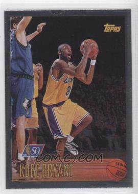 1996-97 Topps - [Base] - Foil NBA 50 #138 - Kobe Bryant