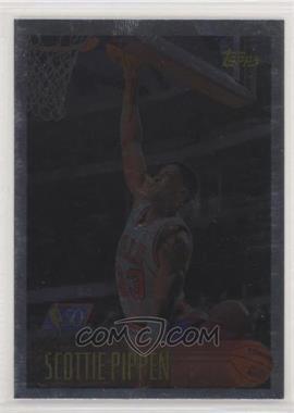 1996-97 Topps - [Base] - Foil NBA 50 #33 - Scottie Pippen