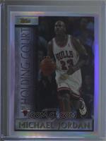 3701b063b28189 Michael Jordan. 1996-97 Topps - Holding Court - Refractor  HC2