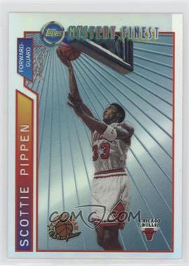 1996-97 Topps - Super Team Champions - NBA Finals Refractor #M1 - Scottie Pippen