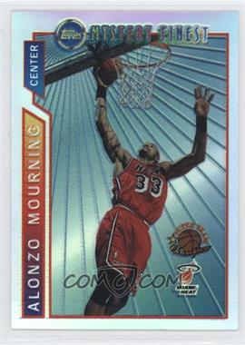 1996-97 Topps - Super Team Champions - NBA Finals Refractor #M10 - Alonzo Mourning
