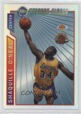 1996-97 Topps - Super Team Champions - NBA Finals Refractor #M12 - Shaquille O'Neal