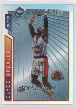 1996-97 Topps - Super Team Champions - NBA Finals Refractor #M13 - Clyde Drexler
