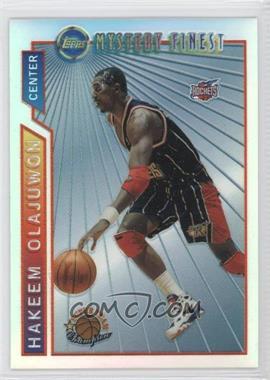 1996-97 Topps - Super Team Champions - NBA Finals Refractor #M19 - Hakeem Olajuwon