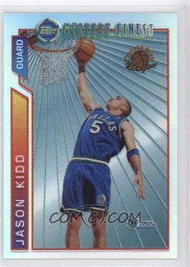 1996-97 Topps - Super Team Champions - NBA Finals Refractor #M2 - Jason Kidd