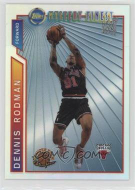 1996-97 Topps - Super Team Champions - NBA Finals Refractor #M7 - Dennis Rodman