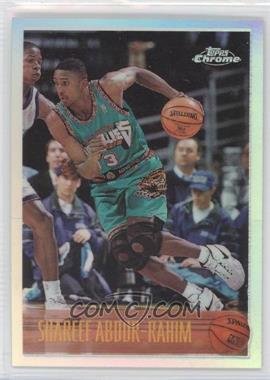 1996-97 Topps Chrome - [Base] - Refractor #128 - Shareef Abdur-Rahim