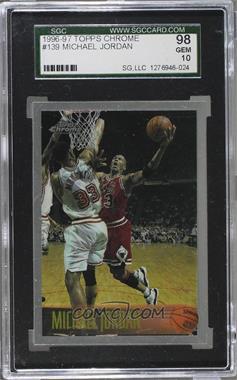 1996-97 Topps Chrome - [Base] #139 - Michael Jordan [SGC10GEM]