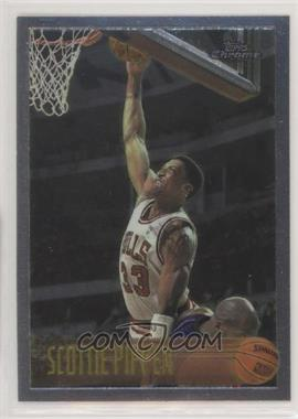 1996-97 Topps Chrome - [Base] #33 - Scottie Pippen