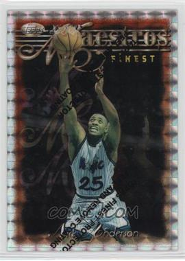 1996-97 Topps Finest - [Base] - Refractor #106 - Nick Anderson