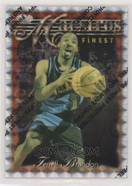 1996-97 Topps Finest - [Base] - Refractor #108 - Terrell Brandon