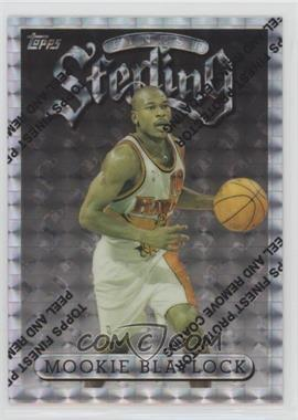 1996-97 Topps Finest - [Base] - Refractor #112 - Mookie Blaylock