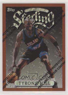 1996-97 Topps Finest - [Base] - Refractor #185 - Tyrone Hill