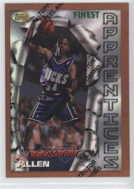 1996-97 Topps Finest - [Base] - Refractor #22 - Ray Allen