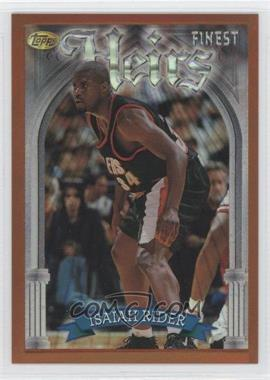 1996-97 Topps Finest - [Base] - Refractor #222 - Isaiah Rider