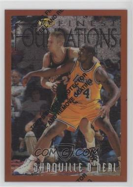 1996-97 Topps Finest - [Base] - Refractor #243 - Shaquille O'Neal