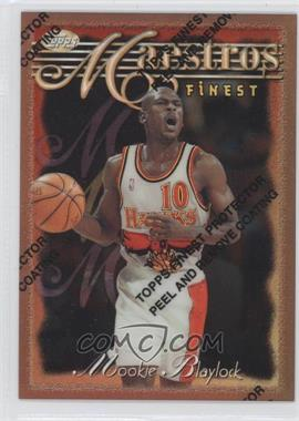 1996-97 Topps Finest - [Base] - Refractor #46 - Mookie Blaylock