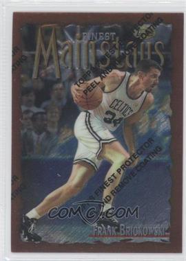 1996-97 Topps Finest - [Base] #164 - Frank Brickowski